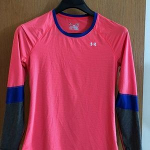 UNDER ARMOUR WOMENS HEATGEAR,SM/P/P FITTED,